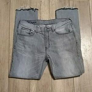Bullhead Denim Dillon Skinny jeans Gray 34s
